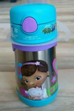 Doc McStuffins Thermos Funtainer 10 Oz Drink Bottle for Cold