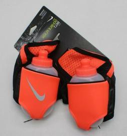 Nike Double Flask Reflective Running Belt Water Bottles  10o