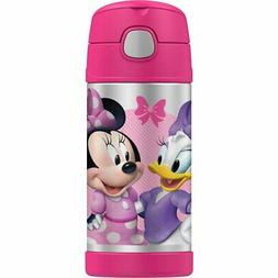 THERMOS Drink Bottle 355ml DISNEY Minnie Mouse Authentic Kid