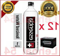 Essentia Water 12x1-Liter Bottles Ionized Alkaline Bottled P