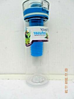 Cool Gear Flavor Infuser Water Bottle 28oz Shatter Resistant