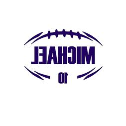 Football Decal | Personalized Football Decal | Decal for Wat