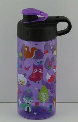 fox owl sullivan bottle purple