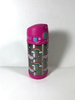 Thermos Funtainer Kids 12 Oz. Fat Unicorn Bottle Stainless S