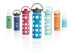 LifeFactory Glass Water Bottles & Baby Bottles