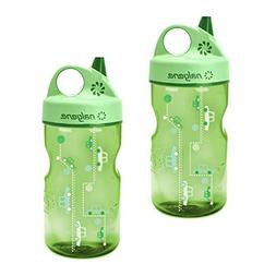 Nalgene Grip-n-Gulp Everyday Kids 12oz Water Bottle - 2 Pack