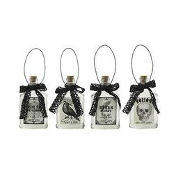 Darice Halloween Potion Bottles: 3 x 5.5 inches Priced indiv