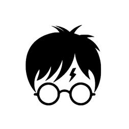Harry Potter decal for Yeti, Decal for water bottle, Sticker