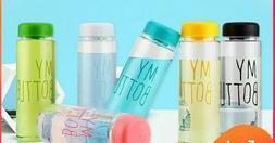 Heat Resistant Water Bottles Leakproof Plastic Liquid Contai