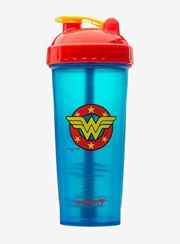 PerfectShaker Hero Series Nutrition Shaker Bottle, Wonder Wo