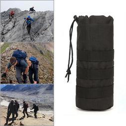 Hiking Holder For Backpack Belt Water Bottle Pouch Portable