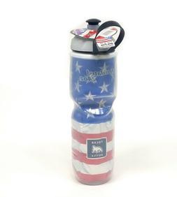 2-Pack Polar Insulated 24oz USA Flag Stars & Stripes Bike Wa