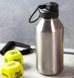 Insulated Water Bottle Stainless Steel Vacuum Double 64oz Wa