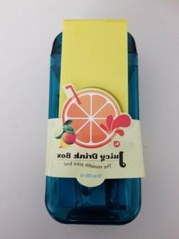 asobu Juicy Drink Box The Ultimate Unbreakable Reusable 10oz