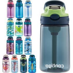 Contigo Kid's 14 oz. AutoSpout Straw Water Bottle with Easy-