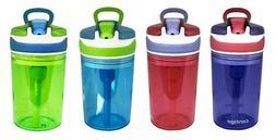 New Contigo Kid's 2-in-1 Snack Water Bottle BPA FREE Color/P