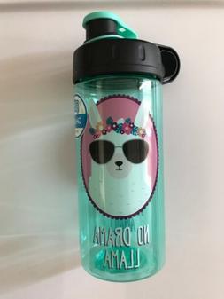 Cool Gear Kids 16 Oz Water Bottle BPA Free No Drama Llama Al