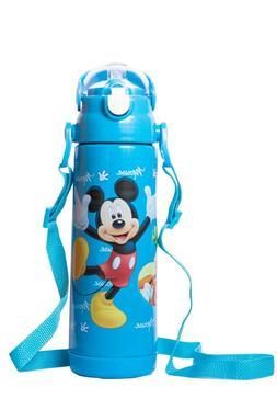 Kids Disney Characters 500ml Flask Water Bottle, Great for S