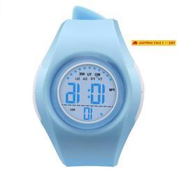 Kids Watch Sport Waterproof Multi Function Digital Wristwatc
