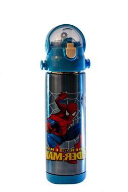 Kids Water Bottle Spider Man 500ml Flask Bottle for School,