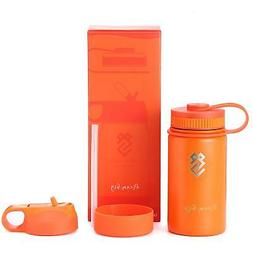 Summit Kids 14 oz Water Bottles, Insulated Stainless Steel M