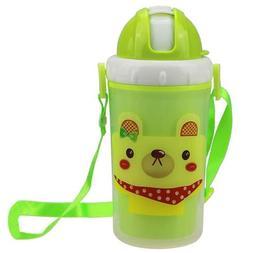 Kids Water Straw Cups for Milk Juice Children School Picnic
