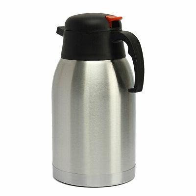 1.5L Steel Vacuum Insulated Tea Water Pot Bottle