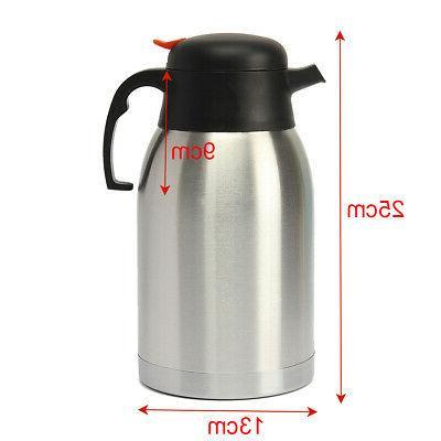 1.5L Home Stainless Steel Vacuum Tea