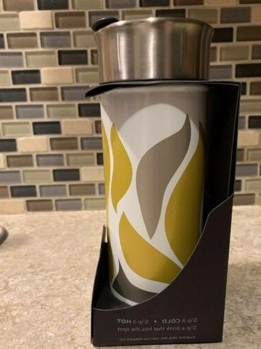 Sip by Insulated Steel Water Bottle * Crema