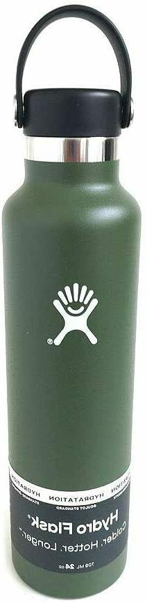 24 oz standard mouth insulated water bottle
