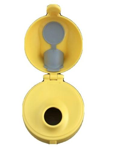Tervis Water Bottle Replacement Lid & Yellow New