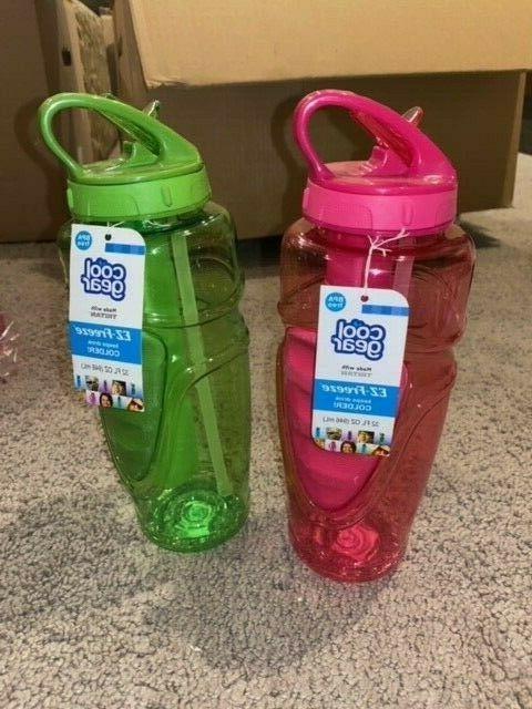 32 fl oz water bottle with freezer