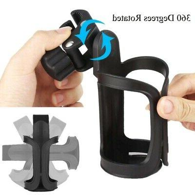 360 Degree Rotation Drink Bottle Cage Cup Holder for Bicycle
