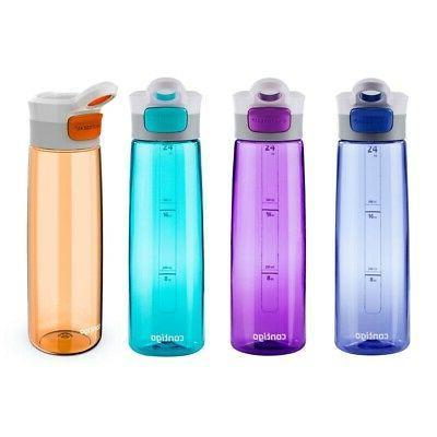 750ml grace cobalt white water bottle autoseal