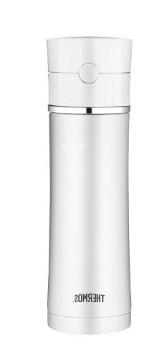 Thermos 18 Ounce Stainless Steel Hydration Bottle, White
