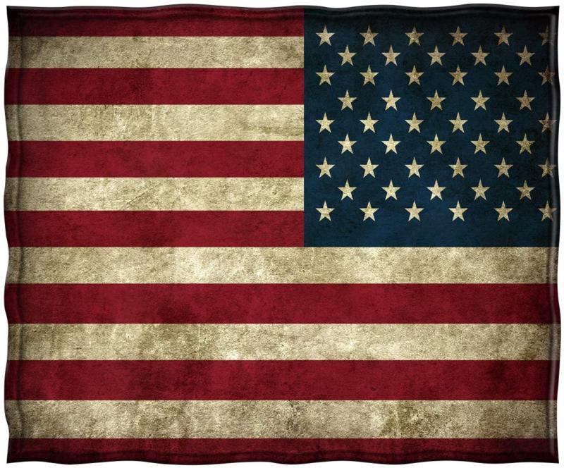 Vintage Flag Warm For