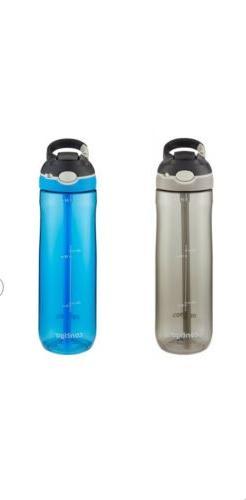 Contigo AUTOSPOUT Straw Ashland Water Bottles 24 oz Scuba an