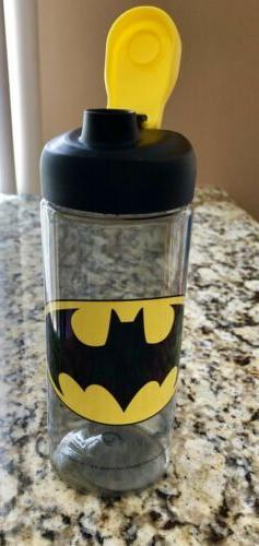 Batman 16 Ounce Kids Reusable Water Bottle -Zak Designs BPA