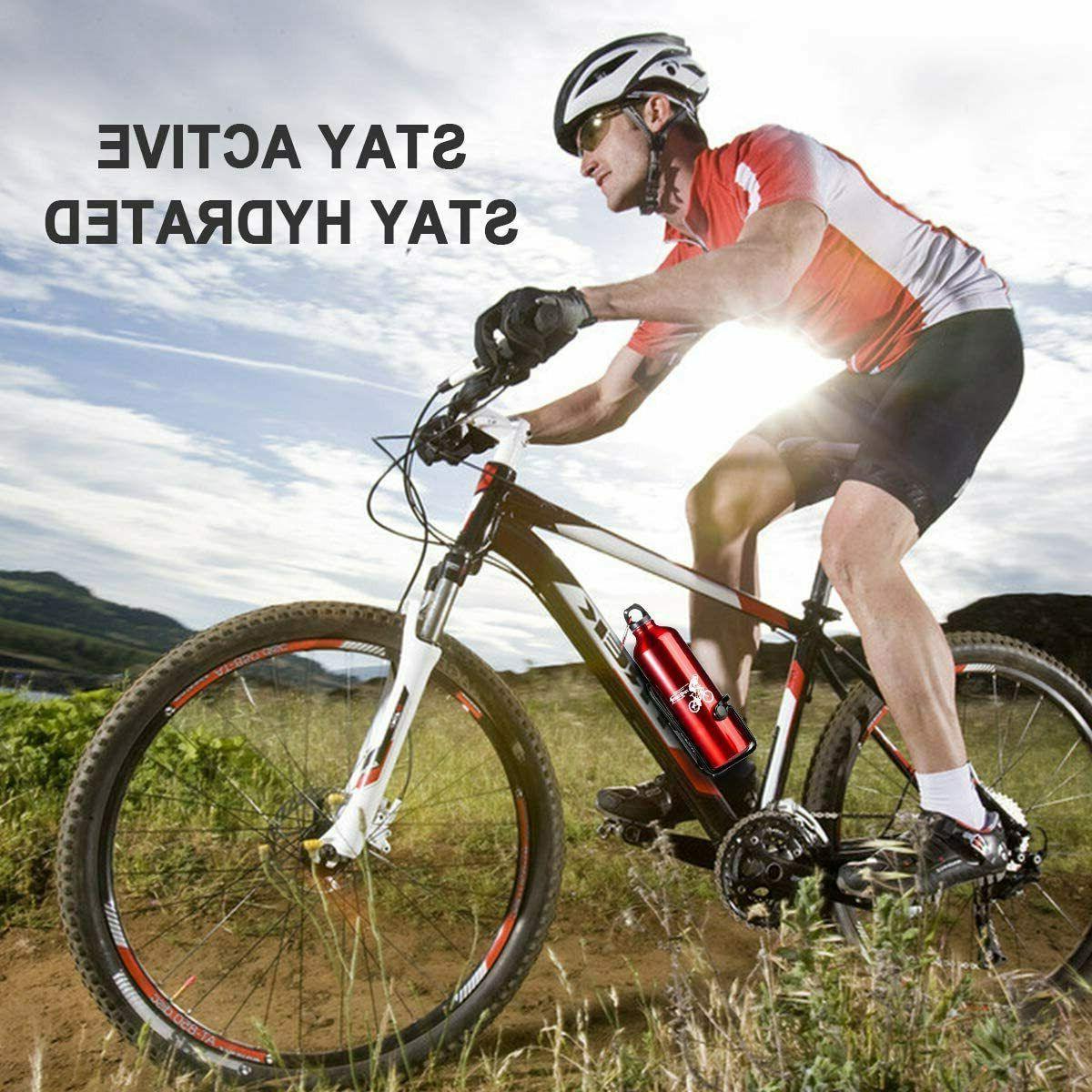 Bike Bicycle Lightweight Aluminum Bottle 2 Packs