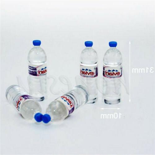 2pcs Bottle Water  Drinking Miniature DollHouse 1:12 Toys Ac