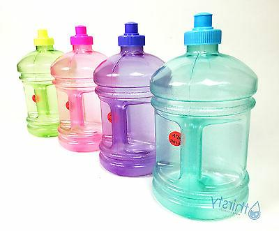 BPA Plastic Drinking Jug Container Aqua H2O New
