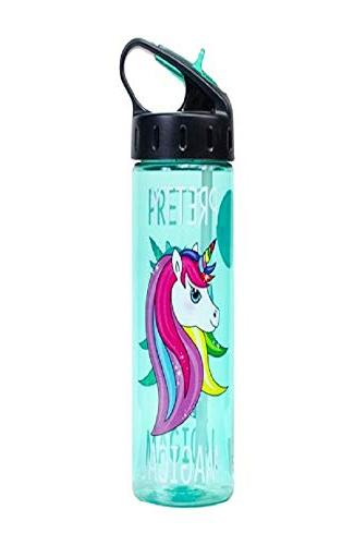Cool Gear Unicorn Water with Straw