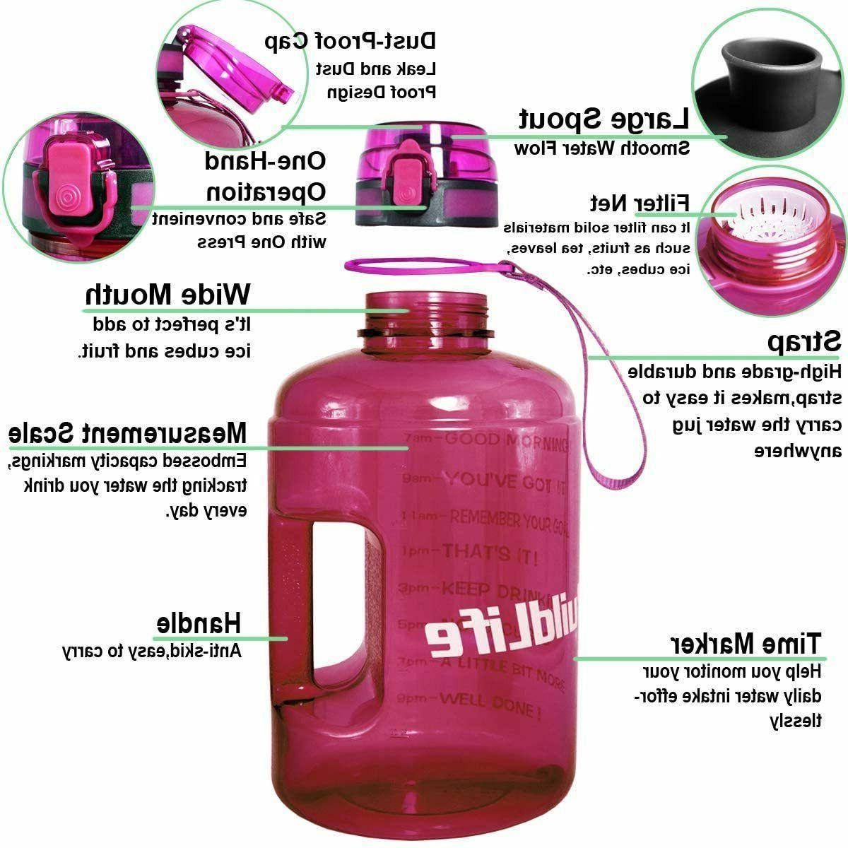 BuildLife Bottle Time Marker/Flip Top