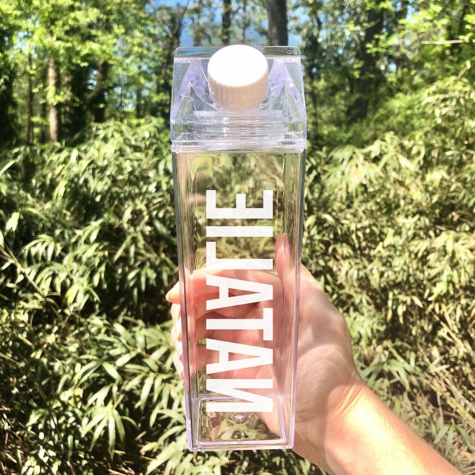 Clear Water Bottle -