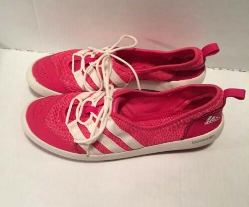 Adidas Womens White Water Shoes 10 New!