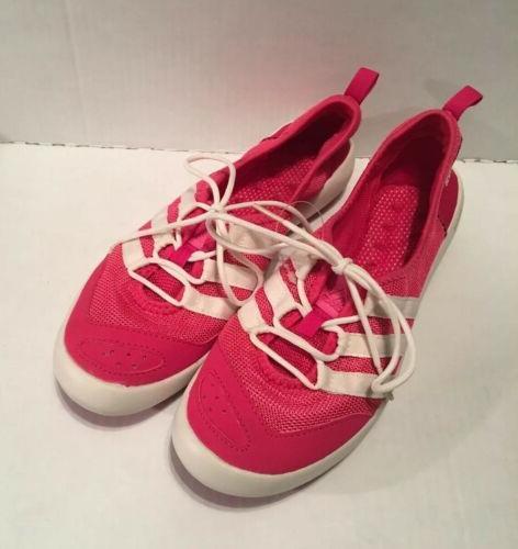 Adidas White Boat Shoes 10