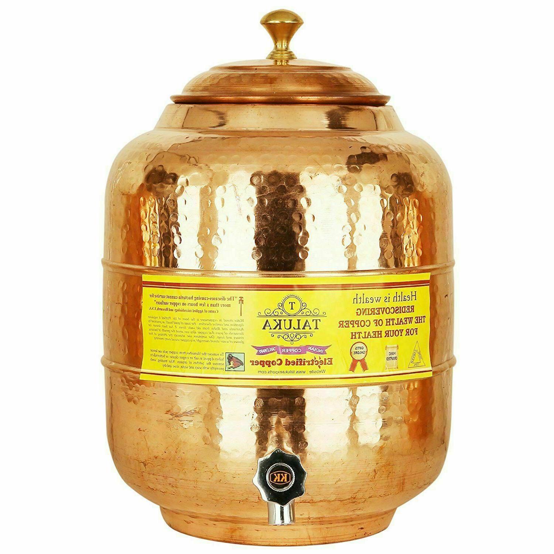 Handmade Water Tank 5 Hammer Liter Storage