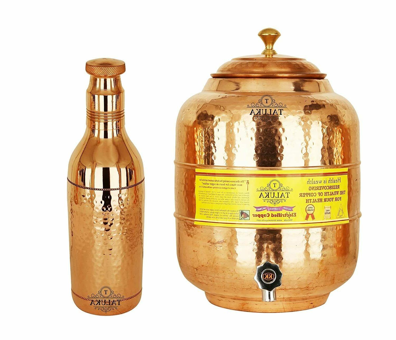 copper water pot tank 5 liter 1