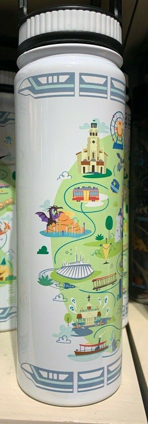 Disneyland Attractions Stainless Water Bottle 20oz