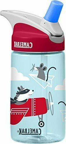 CamelBak Eddy 0.4-Liter Kids Water Bottle – Easy to Use fo